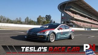 Tesla's Race Car Hits 0-60 In An Insane Time