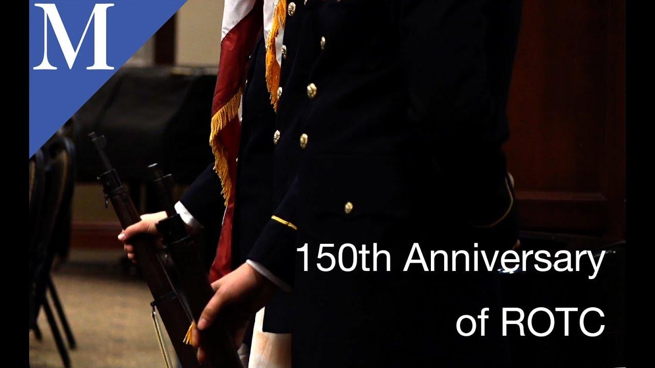 150 Anniversary of ROTC