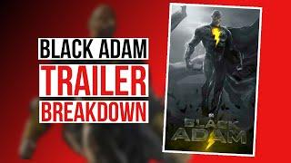 Black Adam Official Teaser Trailer (2021) Breakdown