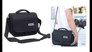 Черная сумка EOS для SLR фотоаппаратов Canon, Nikon, Sony и других производителей с Aliexpress