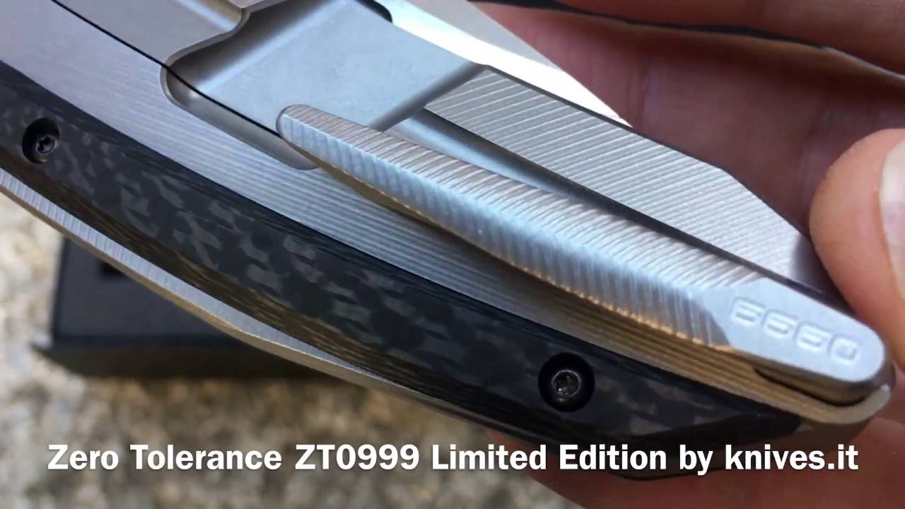 ZT Knives 0999 Limited Edition By Knives.it