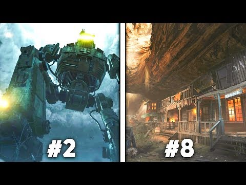 Top 10 BEST Call of Duty Zombies Maps   Arcade Cloud