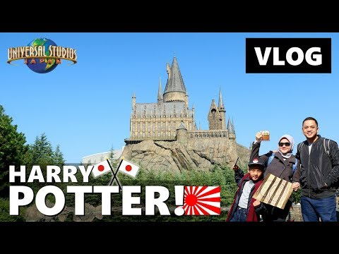 HARRY POTTER at UNIVERSAL STUDIO JAPAN! Vlog Japan | Vlog Keluarga | Vlog Indonesia