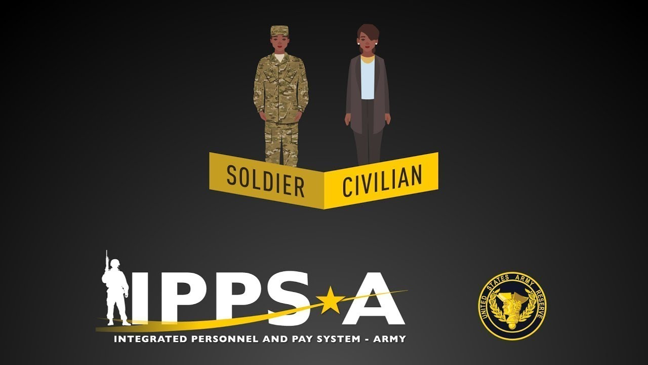 The Integrated Personnel and Pay System - Army (IPPS-A) is an online Human Resources (HR) system that will provide integrated personnel, pay and talent management capabilities in a single system to all Army Components for the first time ever. IPPS-A will improve the lives of Army Reserve Soldiers, and their Families. The Army is committed to developing and deploying a system that is secure, efficient, comprehensive, and meets the unique needs the Army Reserve.