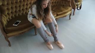 Мой день// VLOG// Фотосессия в пуантах// Я была балериной??