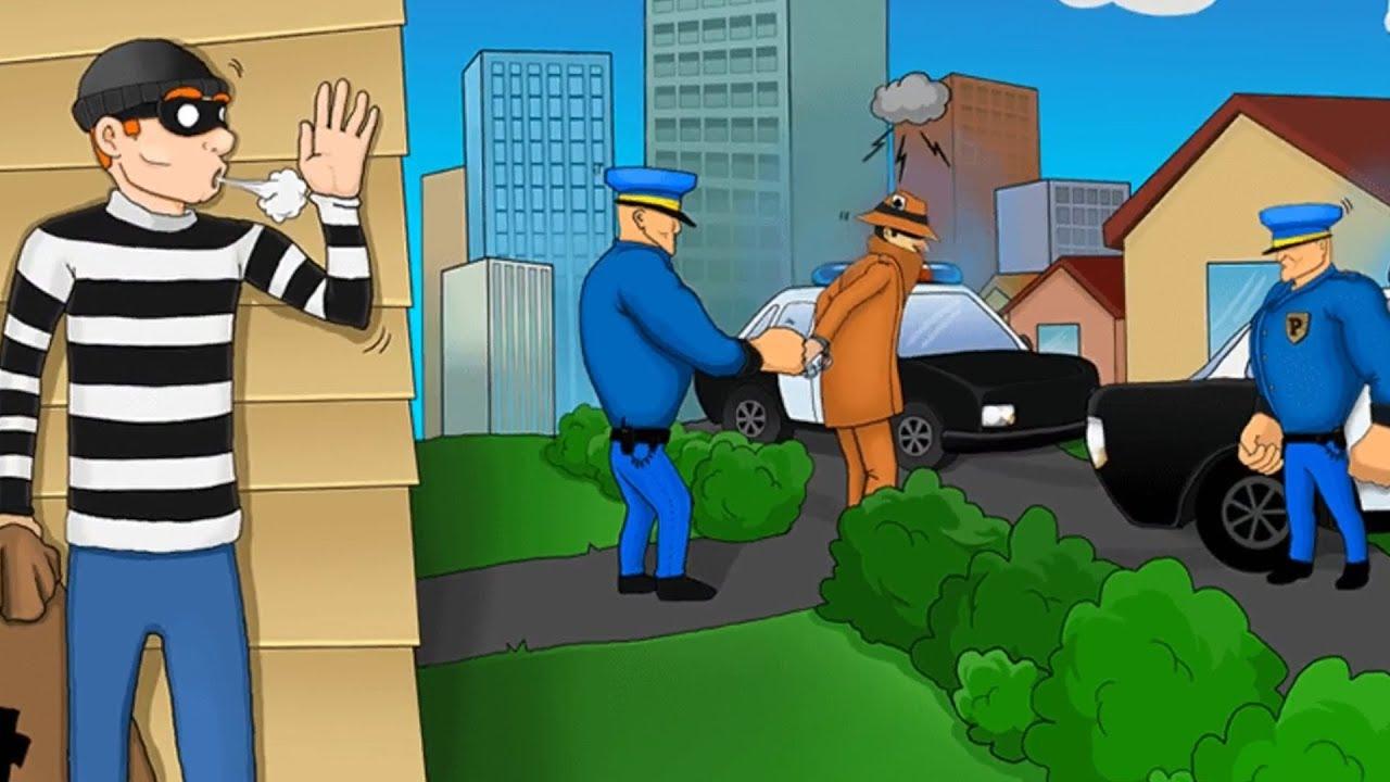 Robbery Bob | Siêu Trộm Bị Cảnh Sát Đấm KO Trượt Phát Nào [3] | Top Game Hay Mobile Android, Ios