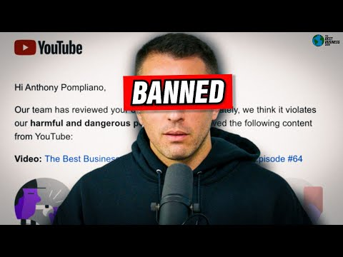 WHY WE GOT KICKED OFF YOUTUBE