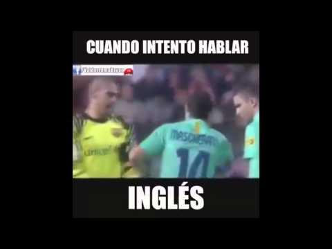 Yo intentando Hablar ingles