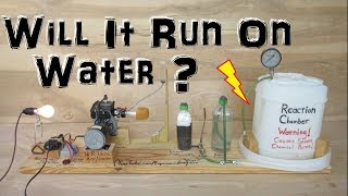 Homemade Generator that runs on Water and Aluminium (Experiment)