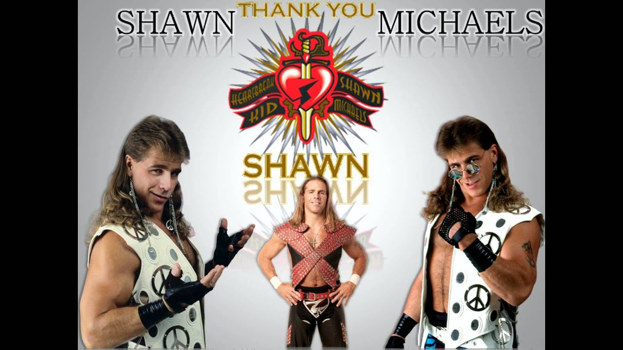 "WWE Shawn Michaels LAST Theme Song "" y Boy"" [Wallpaper"