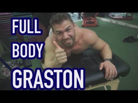 Dr. Christiana Marron Performs Graston Technique On Me