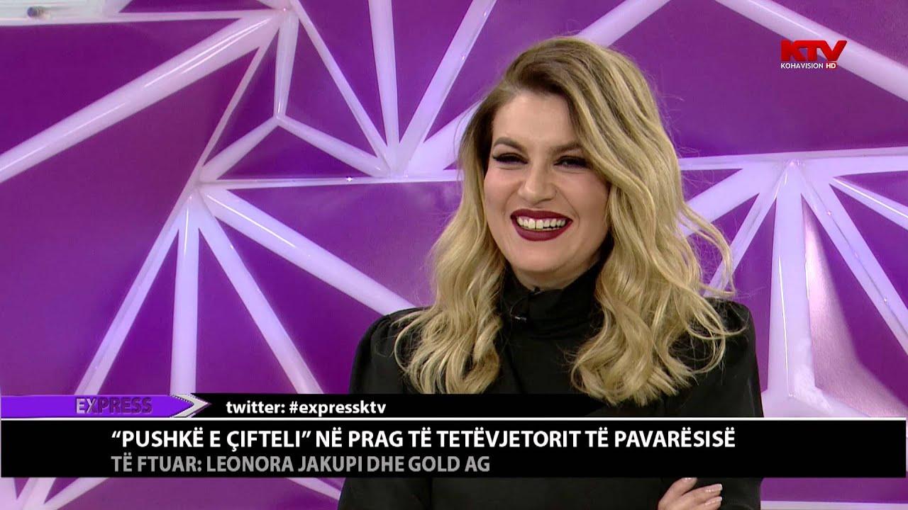 Leonora Jakupi dhe Gold Ag, mysafirë në EXPRESS 16.02.2016