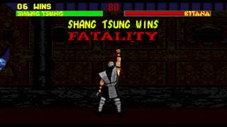 [GEN] Mortal kombat II Unlimited (HACK) TAS 1/2