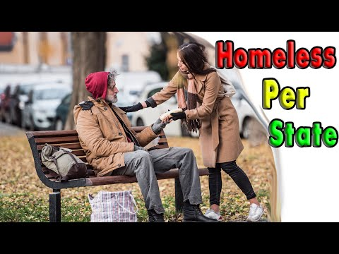 How Many Homeless in Each State. It's not just California.
