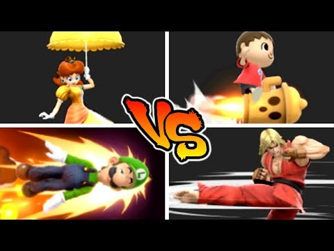 Super Smash Bros. Ultimate - Who has the Best Horizontal Recovery? thumbnail