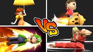 Super Smash Bros. Ultimate - Who has the Best Horizontal Recovery?