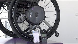 Rollstuhl Zusatzantrieb Fernsteuerung Mobility App