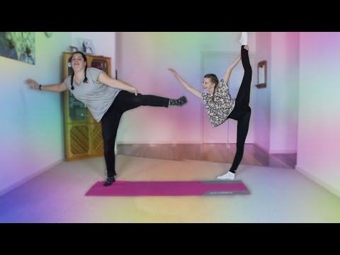 THE FUNNIEST YOGA CHALLENGE EVER! thumbnail