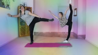 THE FUNNIEST YOGA CHALLENGE EVER!