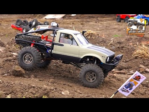 RC ADVENTURES - U4 Rally Race Course - 14 Radio Control Trucks - POKER RALLY TTC 2016 - PT 1