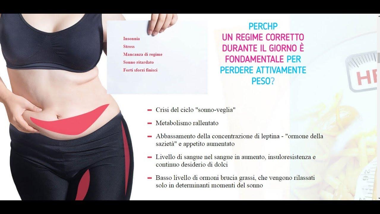 perdita di peso irritabilità insonnia metabolismo aumentat