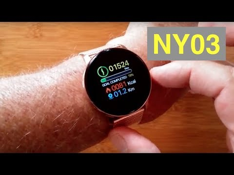RUNDOING NY03 IP68 Waterproof Multi-Sport Blood Pressure Dress Smartwatch: Unboxing And 1st Look
