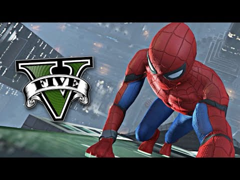 GTA V MODS: SPIDERMAN EN GTA 5 !! - RobleisIUTU
