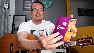 Elixir Nanoweb Light/Medium Strings on S Yairi YDT18 Acoustic Guitar Demo