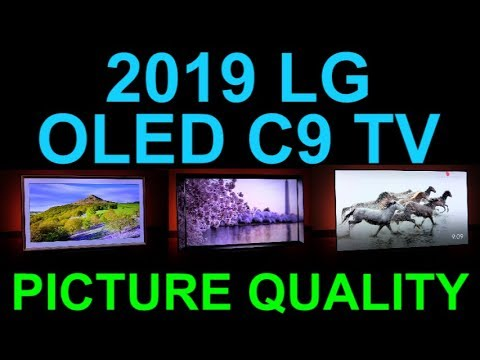 "LG OLED C9 65"" 4K HDR TV Amazing Picture Quality and True Blacks C9PUA Dolby Vision Television"