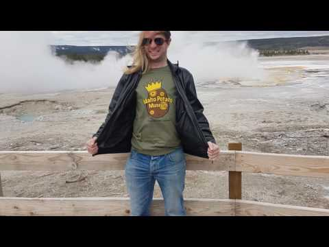 US Road Trip 2016: Day 11 - YELLOWSTONE NATIONAL PARK - OLD FAITHFUL GEYSER