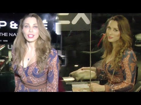 Salman Khan's Girlfriend Iulia Vantur Spotted Outside A Nail SPA