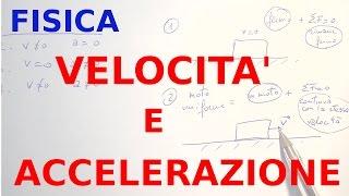 Velocità e accelerazione: ripetizioni di fisica #4