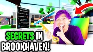 Can We Reveal ALL BROOKHAVEN SECRET PLACES ? (BROOKHAVEN RP