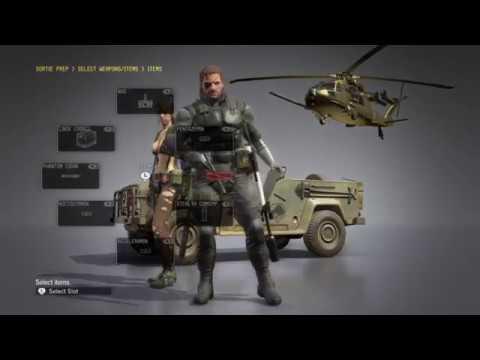 MGS V Phantom Pain #17 Rescue The Intel Agents (Bez Komentarza)