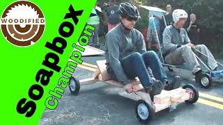 Soapbox Derby Car Build - 1st Place