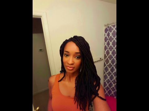 Coloring Locs: Dark And Lovely Golden Bronze