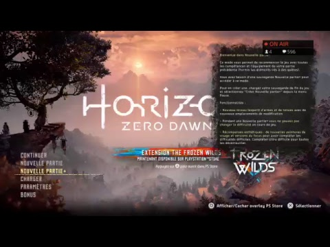 (PS4/FR)LIVE HORIZON DAWN L ARMUR ANTIQUE ENFIN !