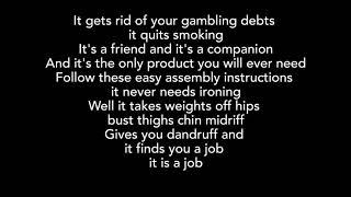TOM WAITS Step Right Up +lyrics