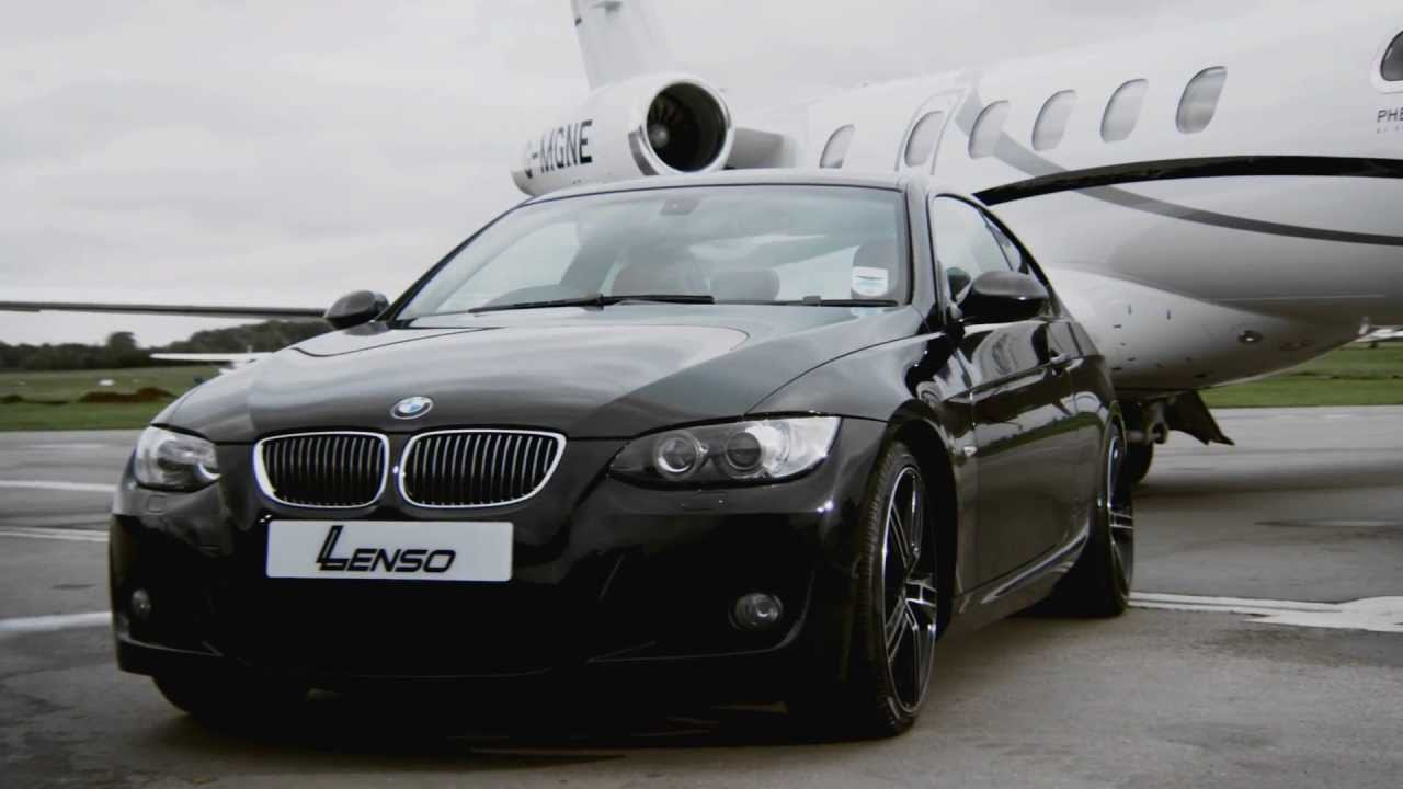 black bmw 3 series e92 on staggered 19 lenso es6 concaved wheels rims alloys lenso uk youtube. Black Bedroom Furniture Sets. Home Design Ideas
