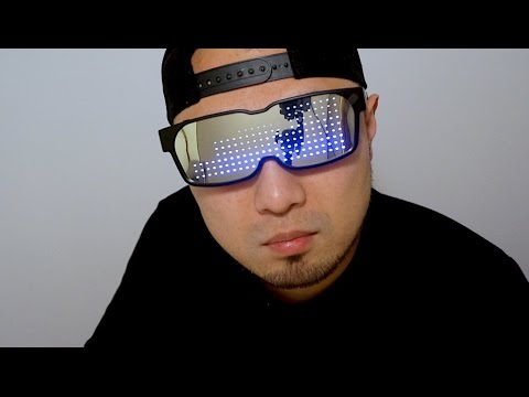 Chemion LED Bluetooth Glasses - Behind the Scenes | Doovi