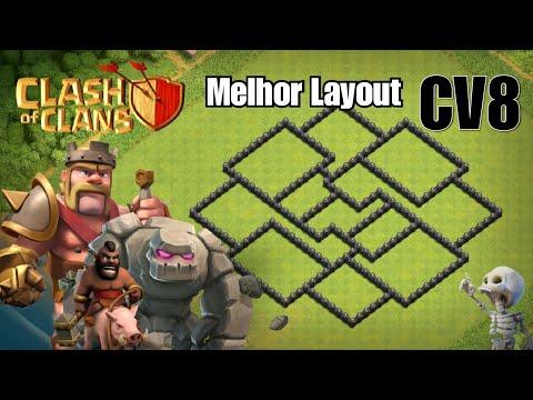 Melhor Layout CV8 2018 Farm/Push