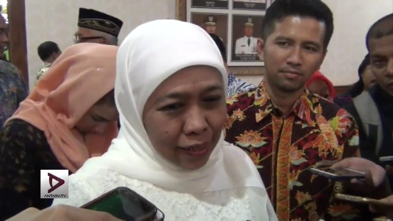 Khofifah tak akan langsung ke Surabaya usai dilantik - YouTube
