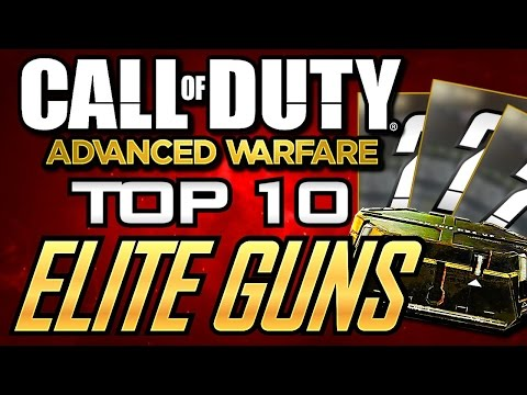 Top 10 Elite Weapons in Advanced Warfare! (Best Elite Gun Variants in Advanced Warfare)