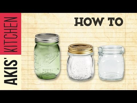 How to sterilize jars | Akis Kitchen
