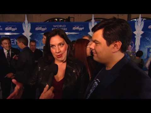 Frozen: Songwriters Kristen Anderson-Lopez & Robert Lopez World Premiere Interview