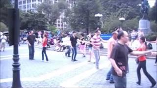 Ny Westie - 3.30pm - International Wcs Flash Mob (09/06/14), @ Union Square - Video # 1