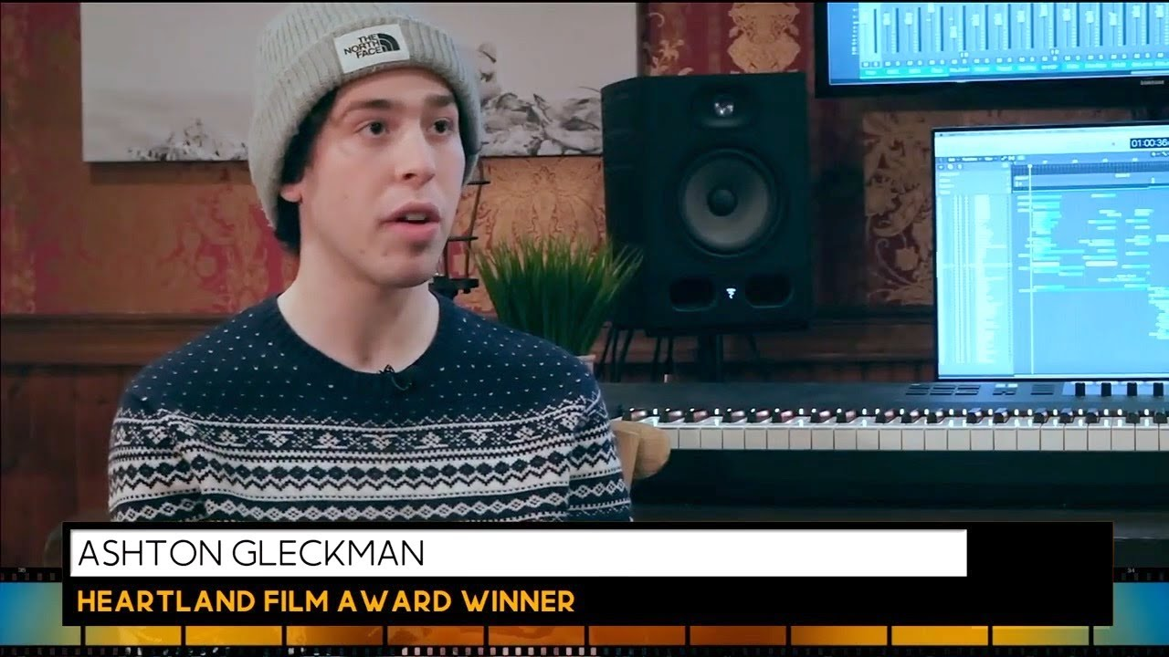 He's only 20 years old - and creating award-winning documentaries!