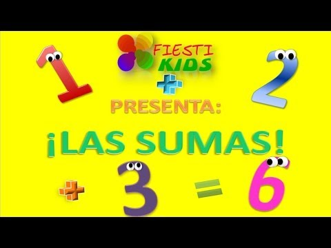 Aprendiendo A Sumar, Las Sumas Para Niños, Additions in Spanish (Video Infantil)