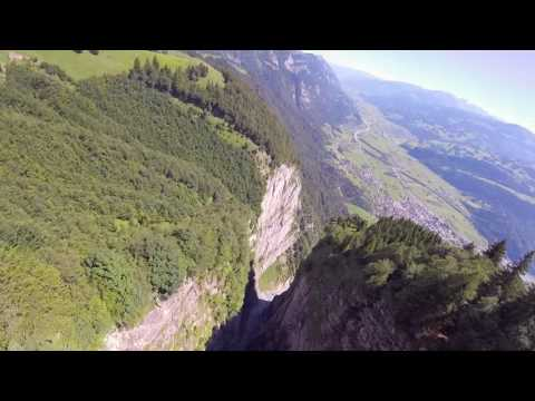 FPV - GRINDING THE CRACK - Base Jumping special with a drone!!
