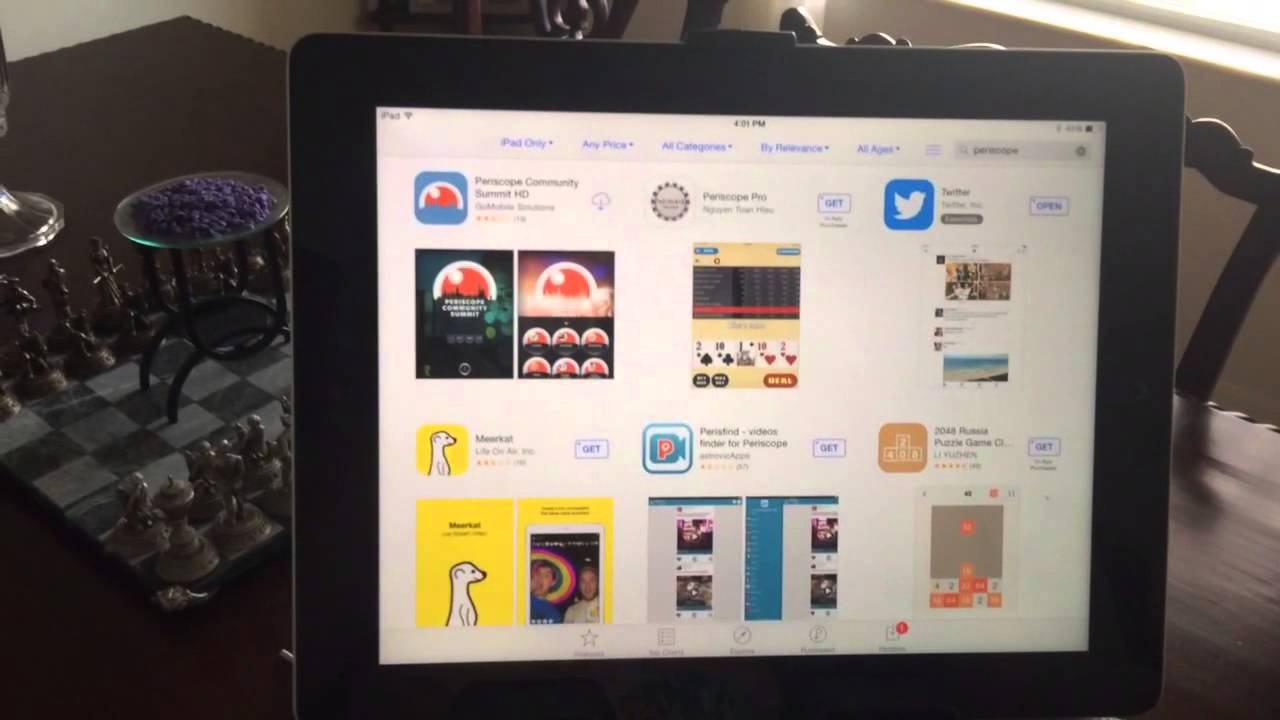 Download periscope 1. 1. 2 (free) for ipad.